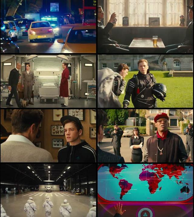 Kingsman The Secret Service 2014 Dual Audio Hindi 720p BluRay