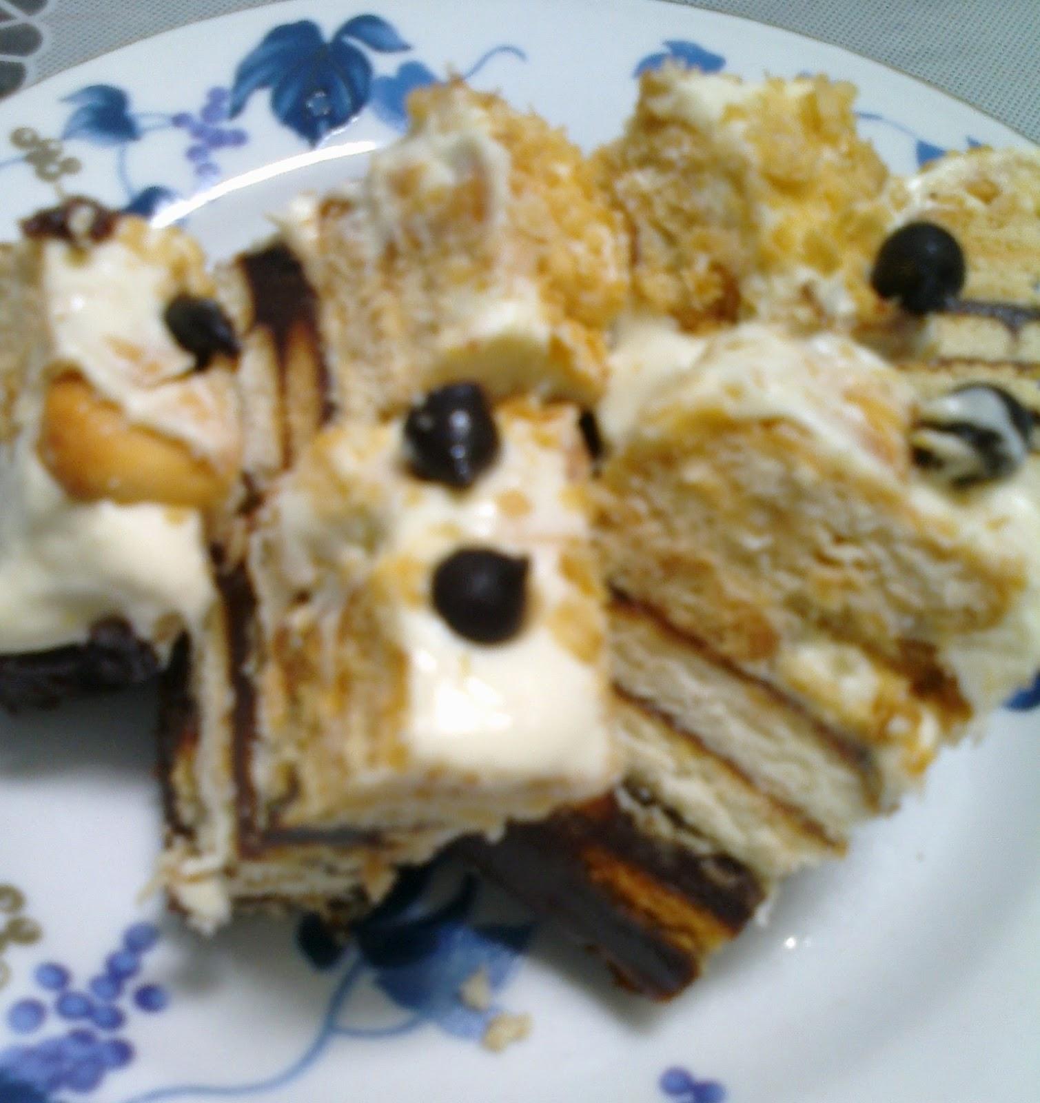 suri hidup mama: Kek Batik Lapis Cheese