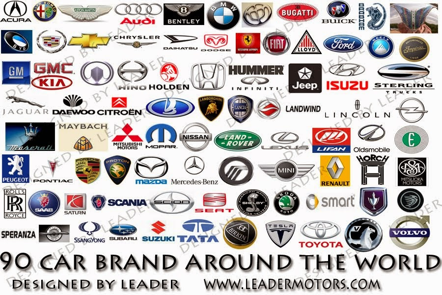 All Car Brand Names >> All Cars Logos In The World With Names 2019 2020 Top Upcoming Cars