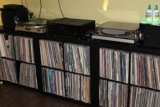 Vinyl Record Storage!
