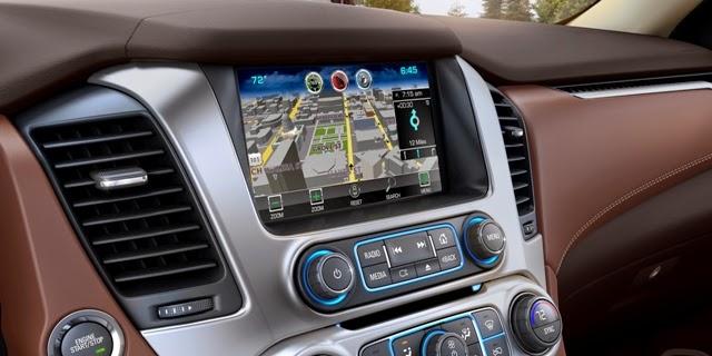 Complementos de Chevrolet Suburban 2015