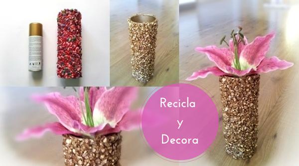 Diy recicla y decora con botes de patatas pringles - Recicla y decora ...
