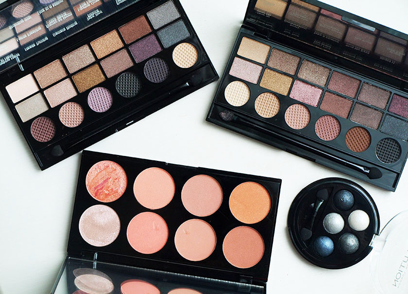 how to fix makeup palettes
