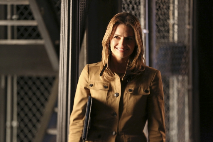Castle - Episode 7.22 - Dead From New York - Full Set of Promotional and BTS Photos
