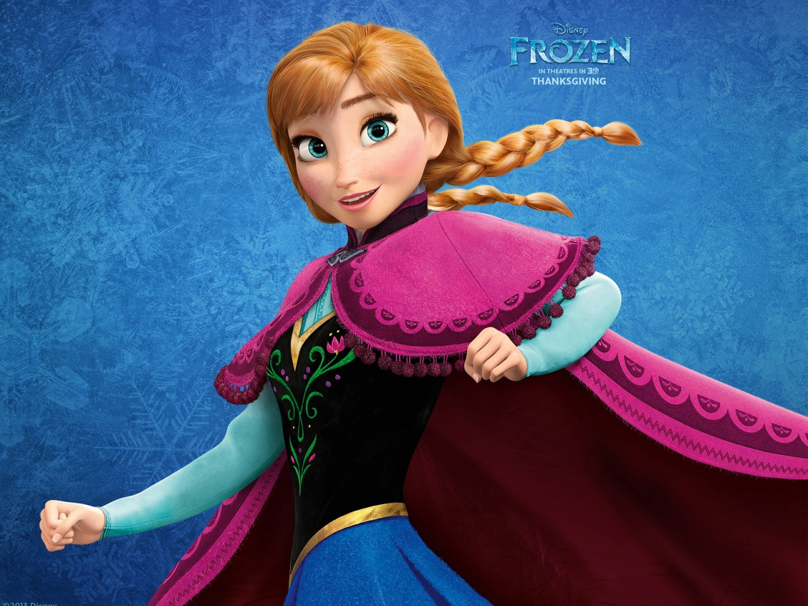 how to draw anna from frozen full body