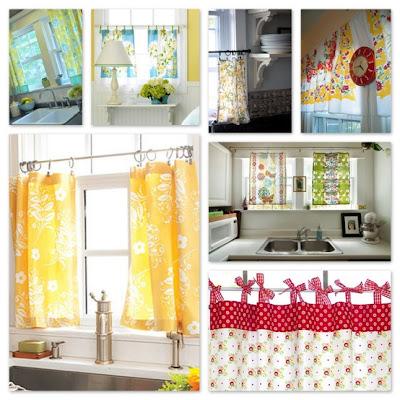 Fotos de cortinas para cocinas cocina y muebles for Cortinas para muebles de cocina