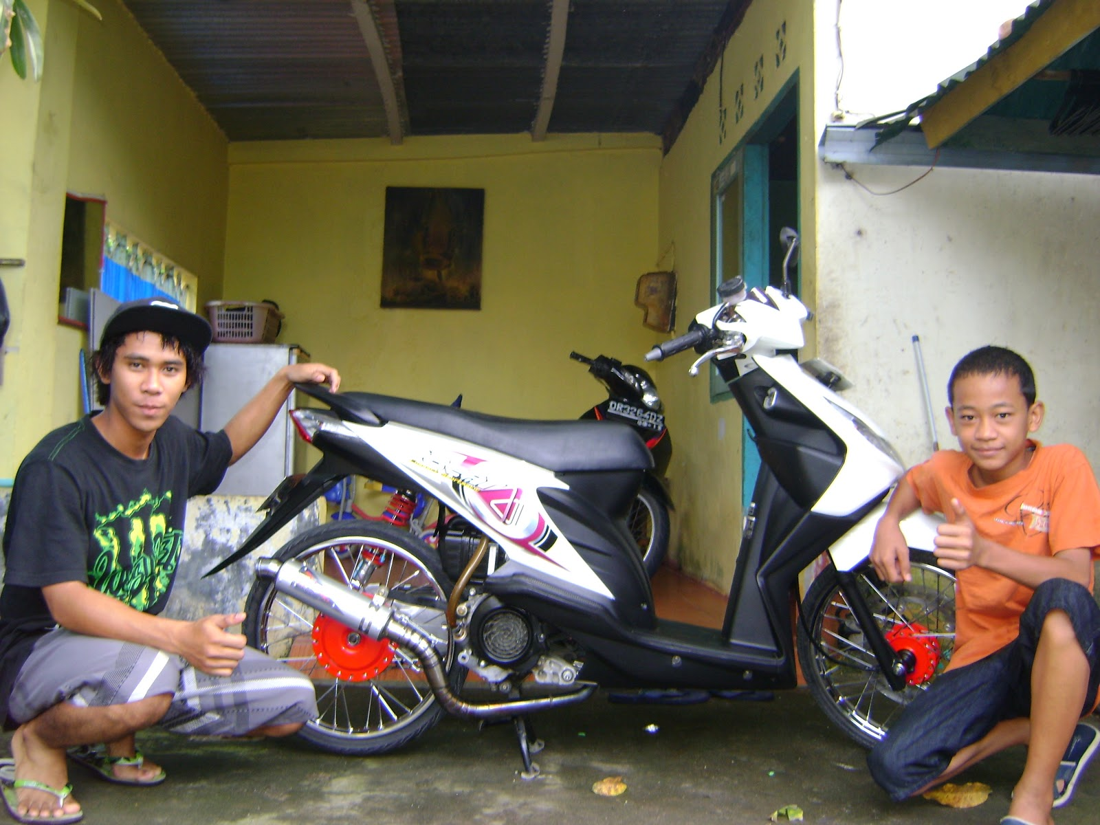 Modifikasi Honda Beat title=