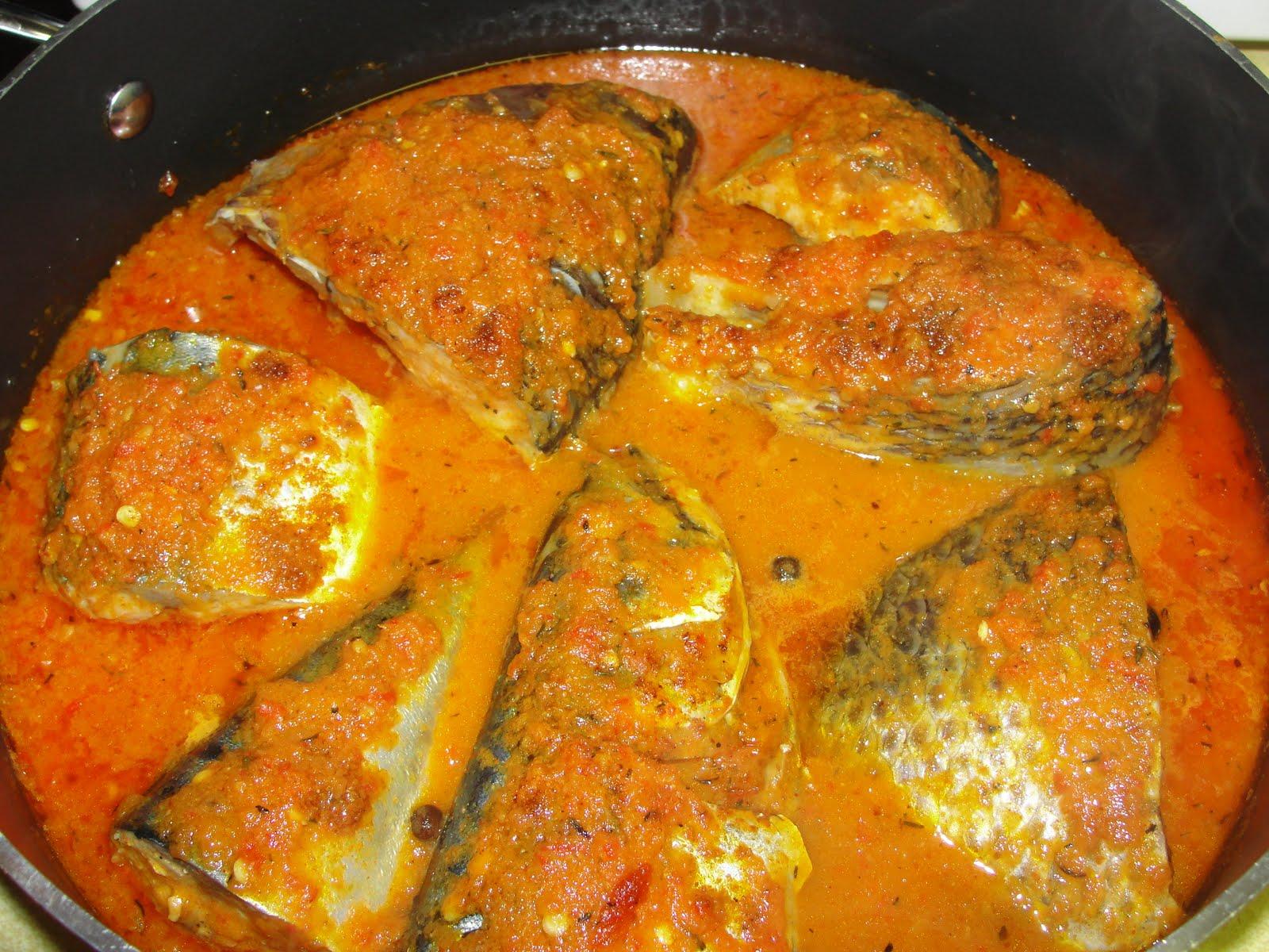 Modern african cuisine mackerel stew for African fish stew