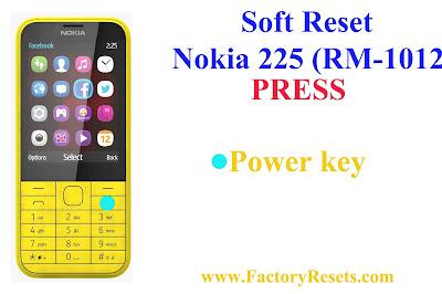 Soft Reset Nokia 225