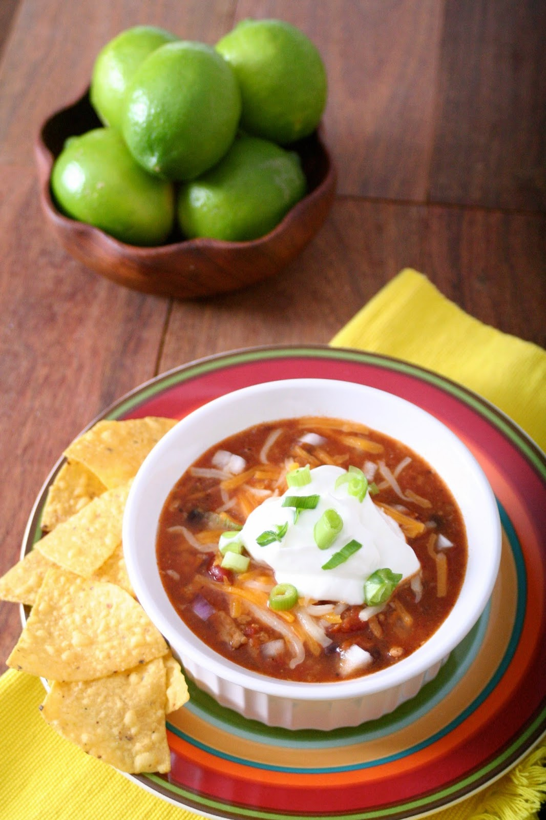Healthy Tortilla Soup with Lime Crema | @TheBareMidriff