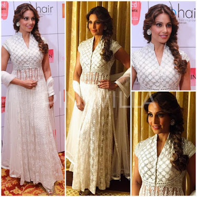 Bipasha Basu in Lucknow Chikankari Suits