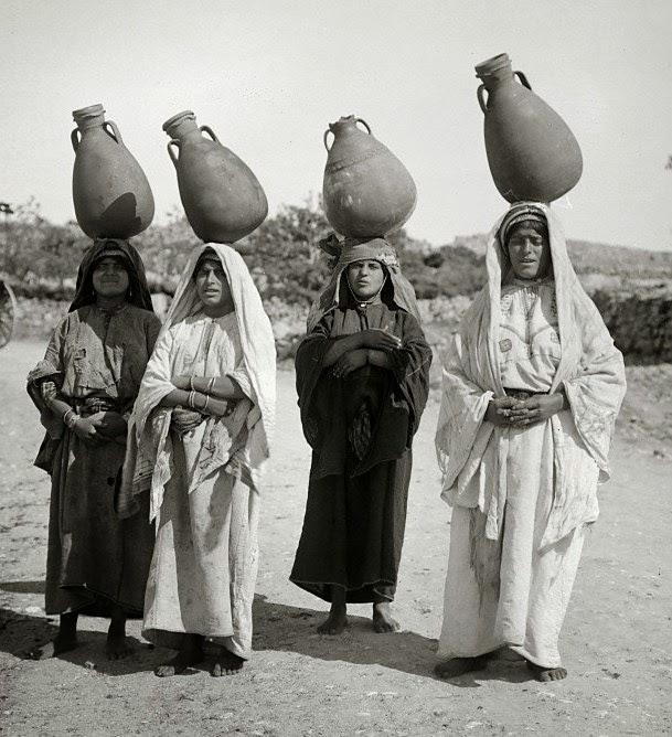 Mulheres da região de Israel - 1930