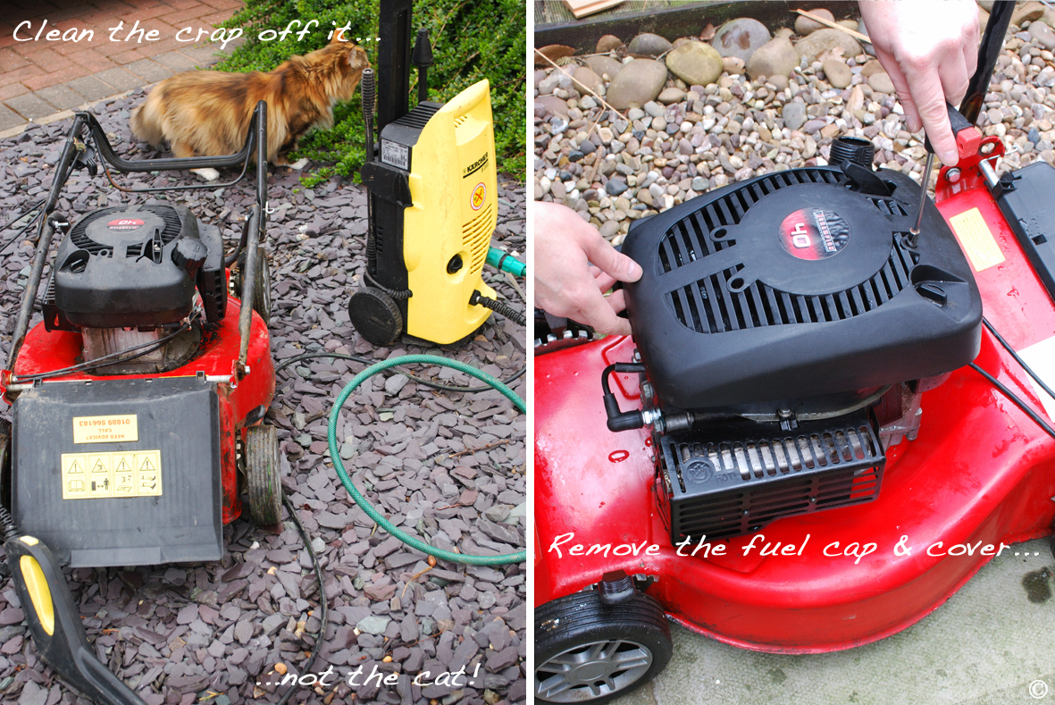 how to start a mower that won& 39