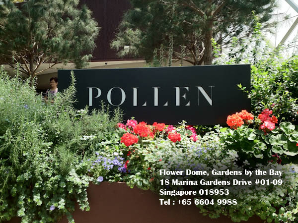 Michelin Star Chef Jason Atherton Brought Some Magic Pollen From The Renown Street Social To Be Aptly Sprinkled Inside Flower Dome Gardens By
