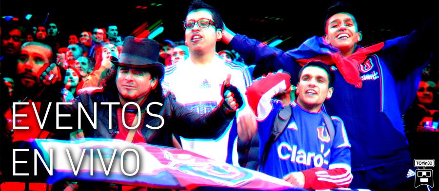 SIENTE LOS EVENTOS GRACIAS AL 3D