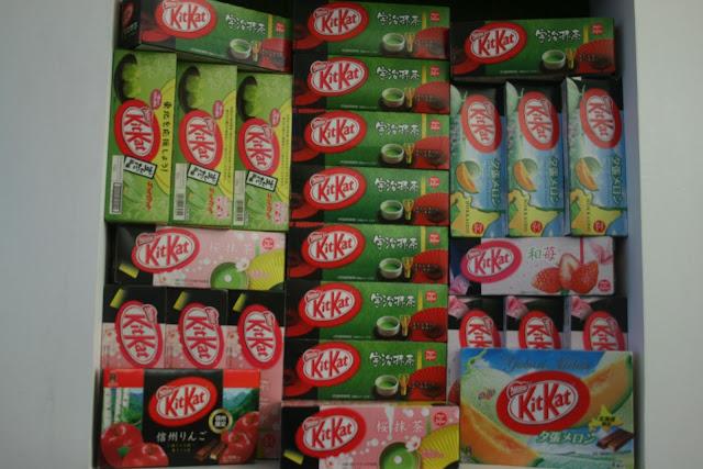 kit kat special flavors