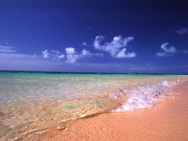 Traumstrand auf den Marshallinseln