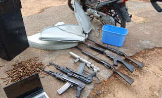 "Bombs, communication equipments, ammunition seized as JTF raid ""Qaqa's home"" in Kano"
