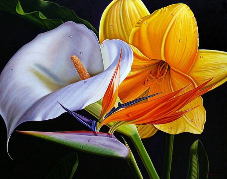 ... buenas tardes chicas ... Cuadros-con-bonitas-flores-,