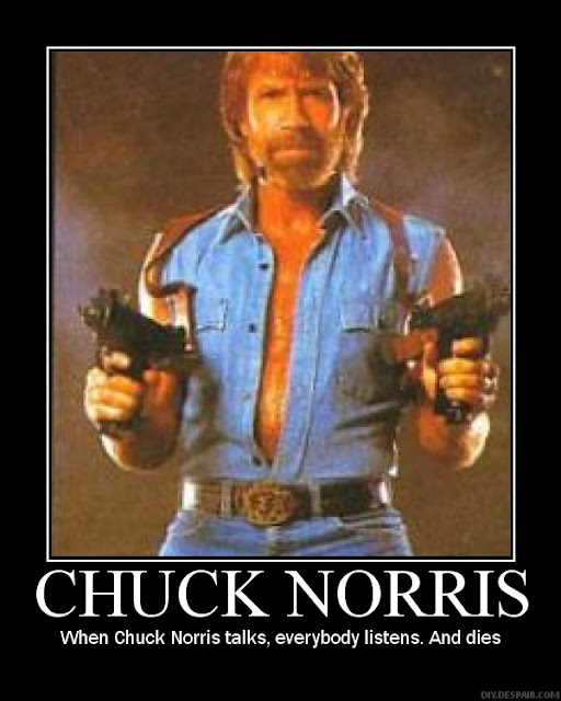 chuck norris real funny facts