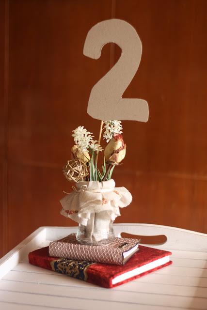 Petite mafalda diy centros de mesa para una boda - Centros de boda originales ...