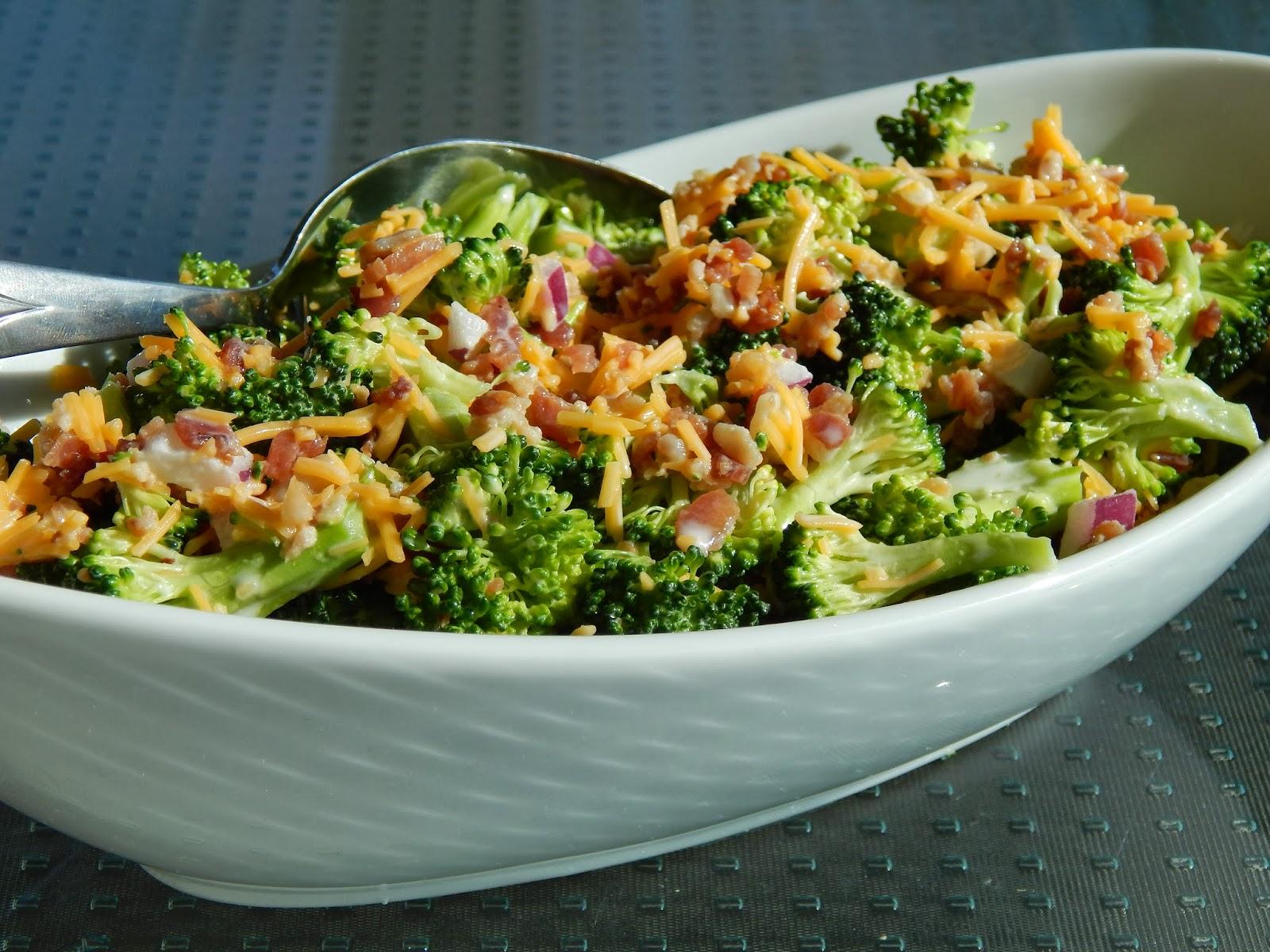 Sweet Amp Tangy Broccoli Salad Cut The Wheat