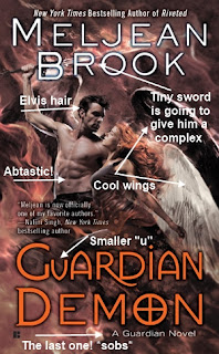 Guardian Demon by Meljean Brook Cover with Annotations