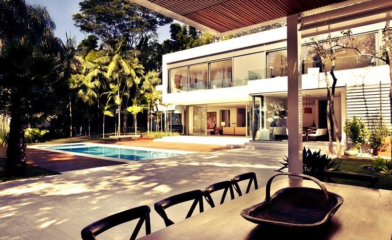 Casa morumbi de arquitectura minimalista y concepto for Casa minimalista arquitectura