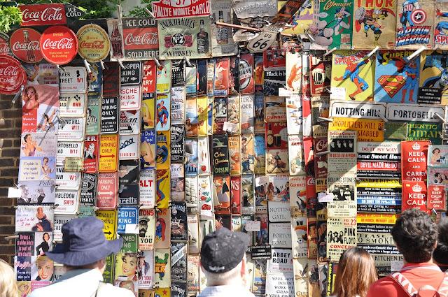 Portobello+Market+Notting+Hill+signs+shop