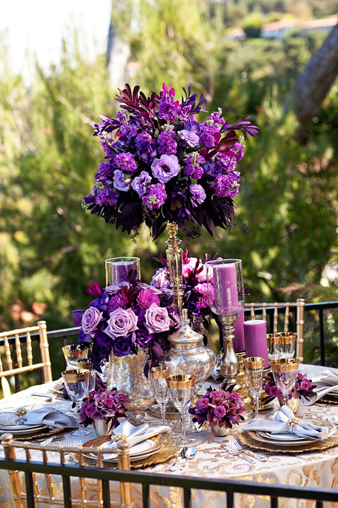 Creative center table arrangements for weddings lanterns for Center arrangements for weddings