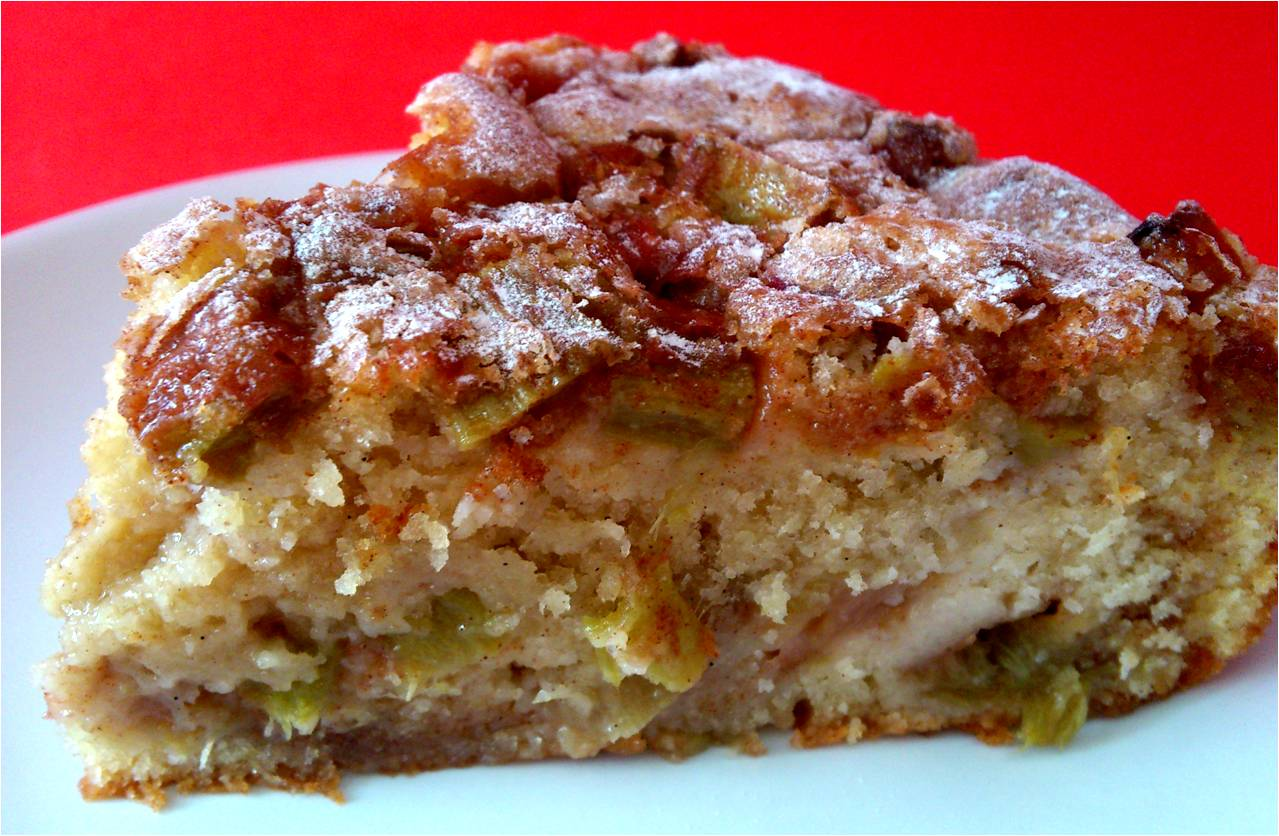 Big Pink Rhubarb Cake Recipes — Dishmaps