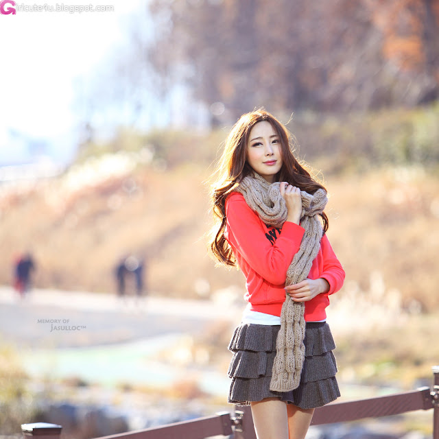 4 Winter with Eun Bin-Very cute asian girl - girlcute4u.blogspot.com