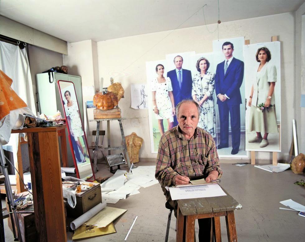 Obra del pintor Antonio López