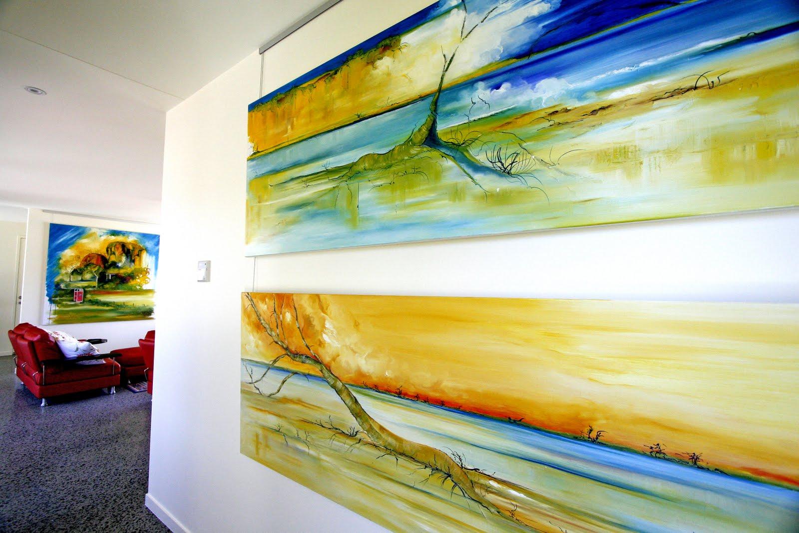 Interiors `Large Format Art Work | Wyn Vogel `Cross Media Artist