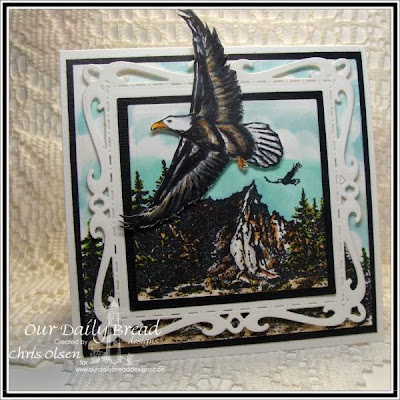 Our Daily Bread Designs, On Eagles Wings, Mountain Range, designed by Chris Olsen