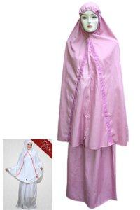 Mukena Dewasa Tatuis Tiara 021 - Dusty Ungu (Toko Jilbab dan Busana Muslimah Terbaru)
