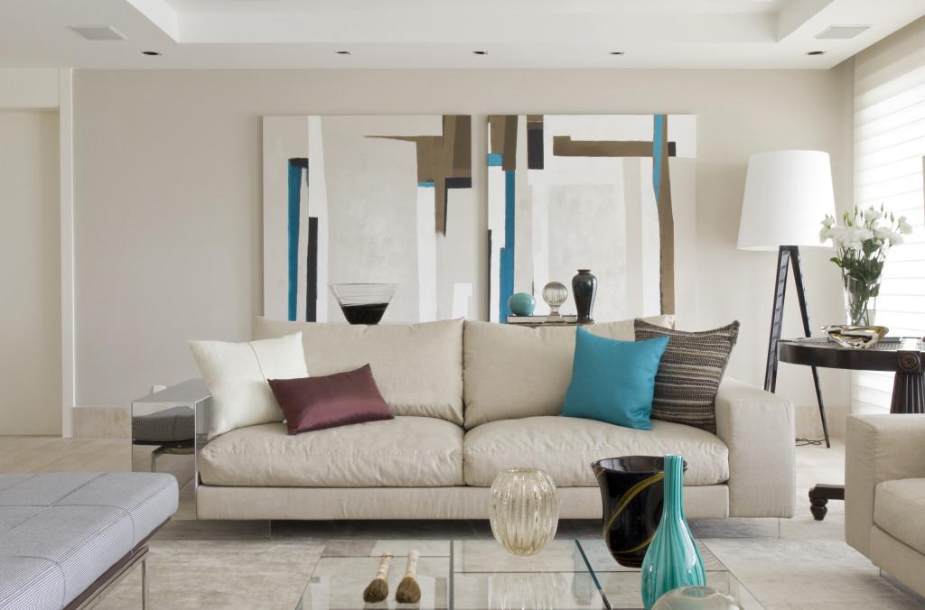 Salas de estar modernas e contempor neas decor alternativa for Casas decoradas estilo contemporaneo