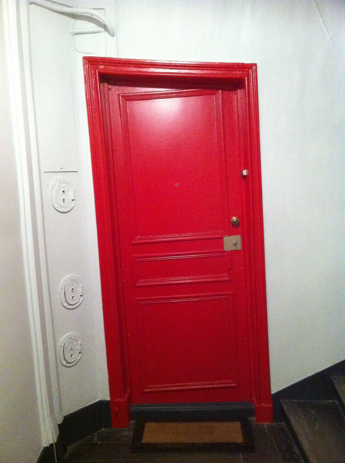the crooked door to our apartment & FOR PILAR~: A few last things from Paris \u0026 Bordeaux