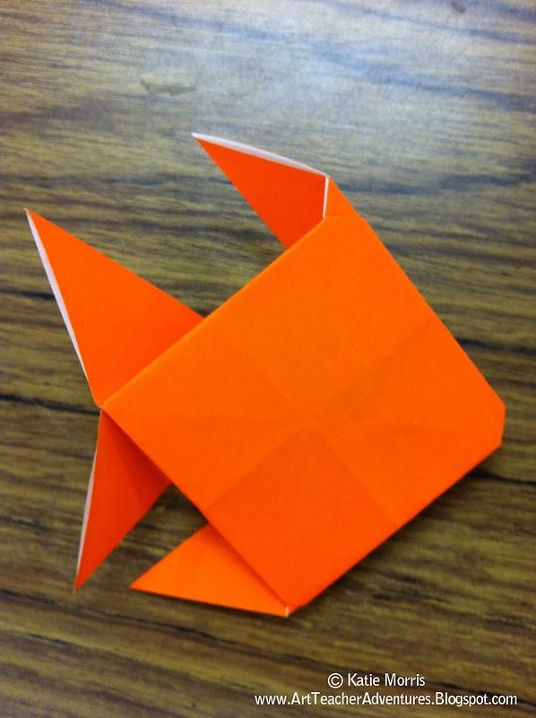 3rd Grade Origami Fish