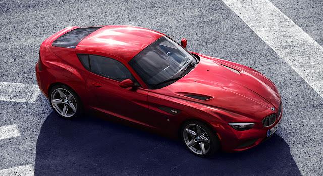 BMW Zagato Coupé side up