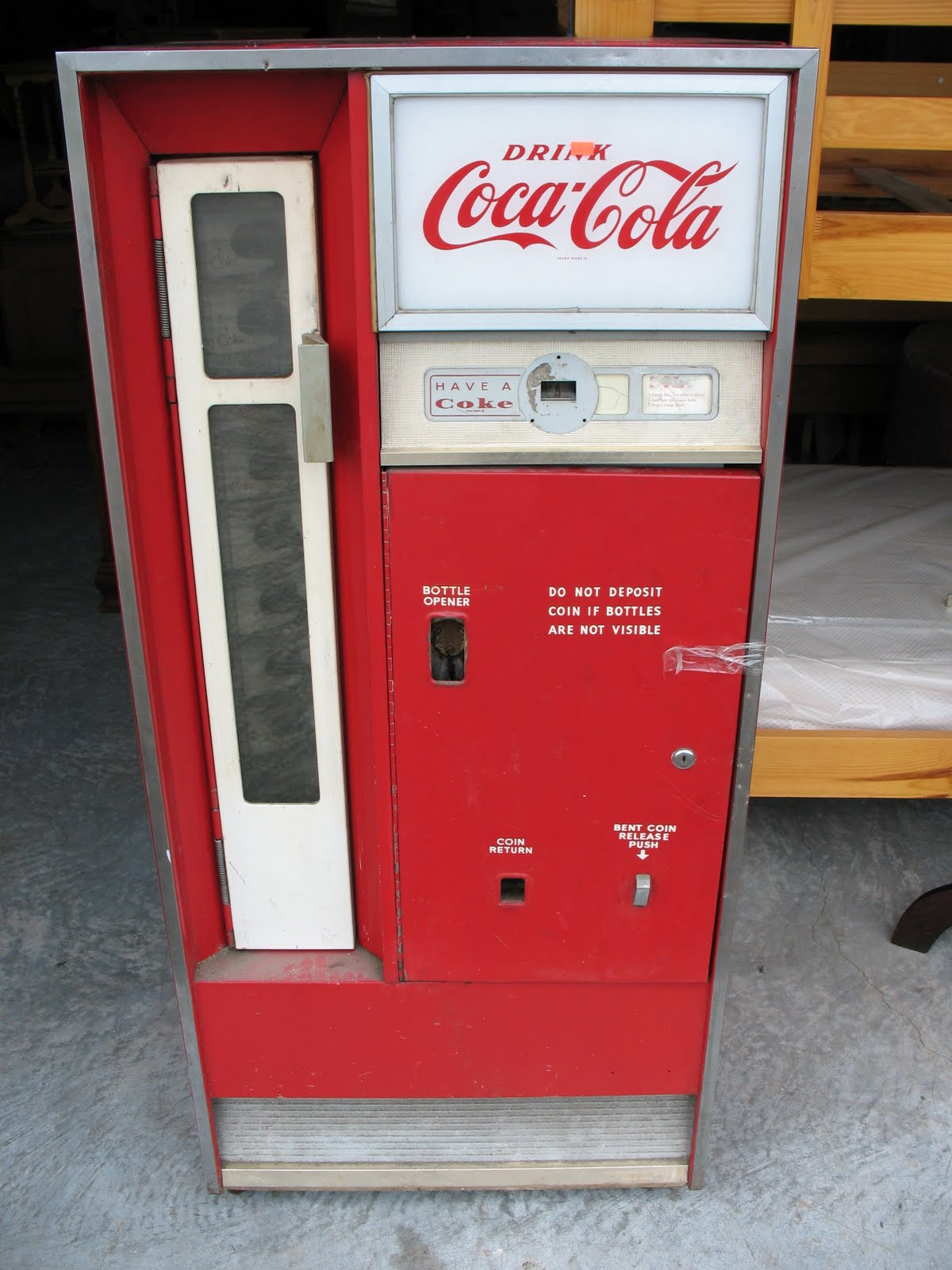 Vintage Coke Machines
