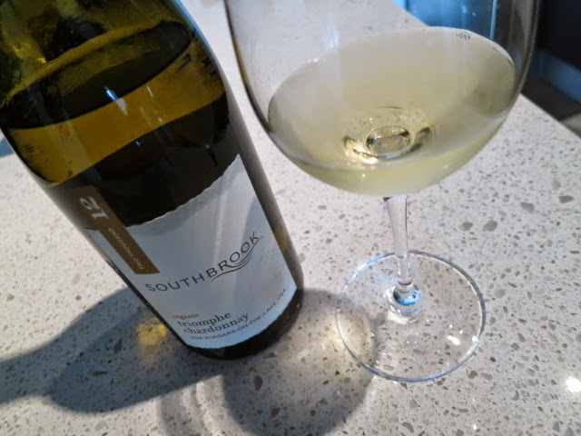Wine Review of 2012 Southbrook Triomphe Chardonnay from VQA Niagara-on-the-Lake, Ontario, Canada