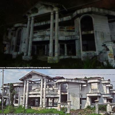 Rumah Hantu Darmo Legendaris di Surabaya