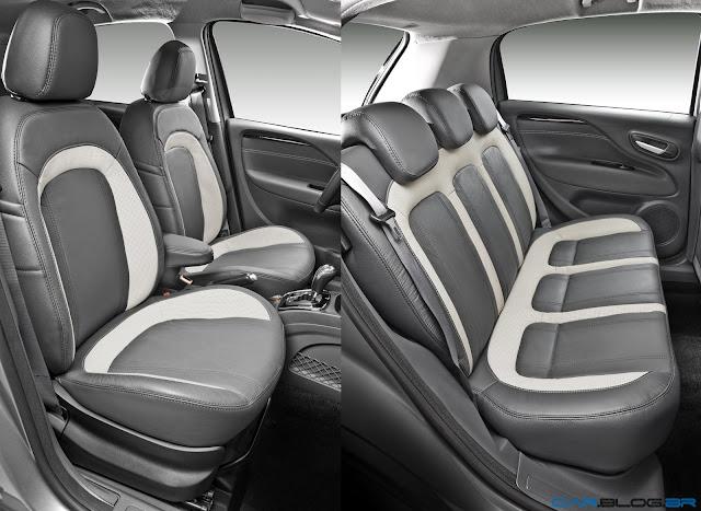 Fiat Punto Essence 1.6 16V 2013 - por dentro
