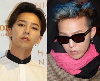 Rambut G-Dragon Big Bang Gaya Rambut Korea 2015