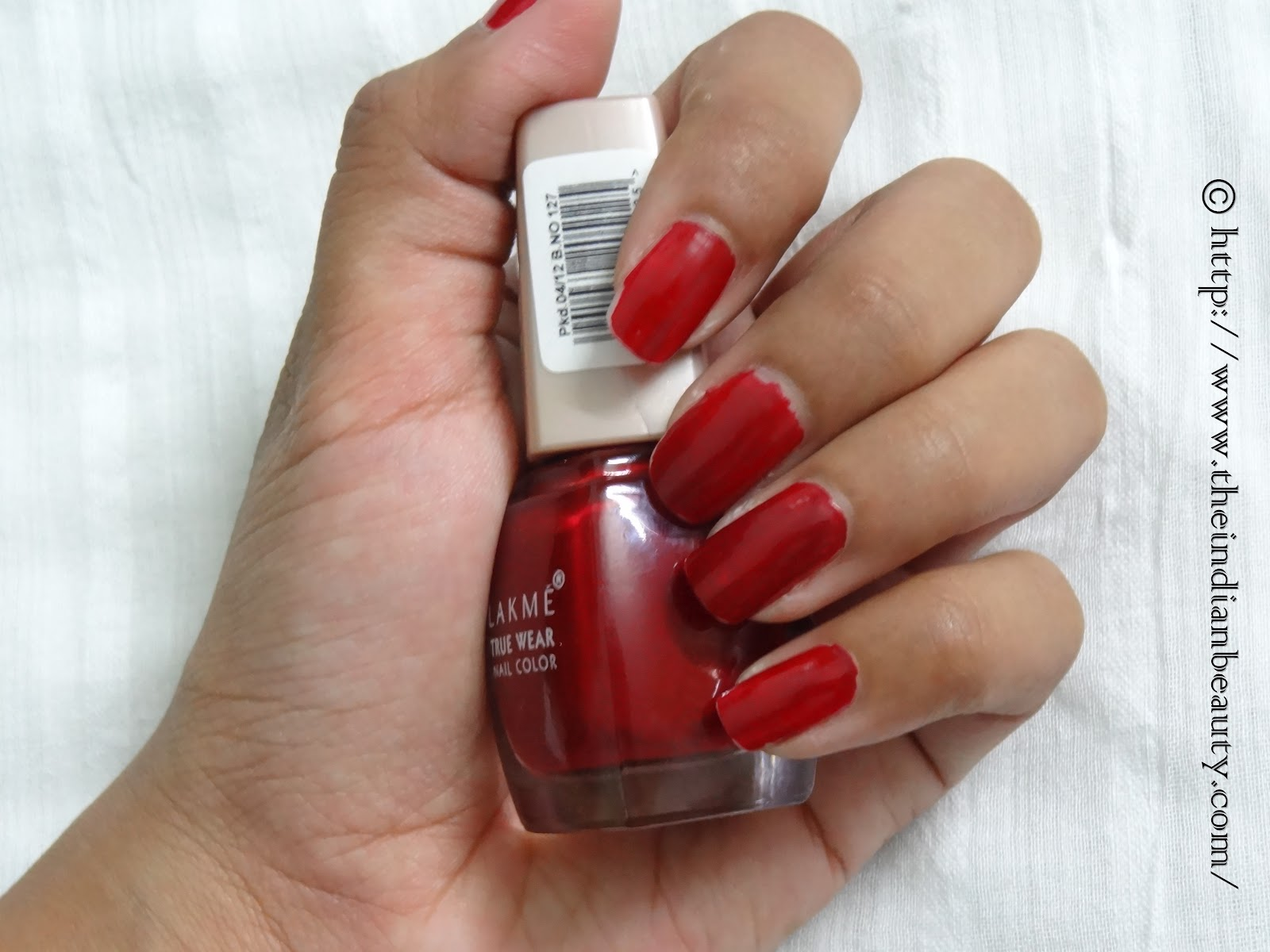 My Experience With Lakme True Wear Nailcolor D415 Manish Malhotra I Love This Nail Paint Though It Does Start Chipping In Like 2 Days