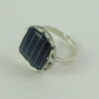 Solar Panel Ring - Ladies