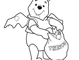 Disney Pooh And Piglet Coloring Pages