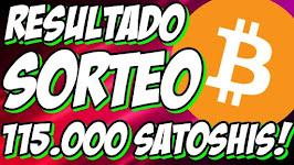 RESULTADO SORTEO 115.701 SATOSHIS!