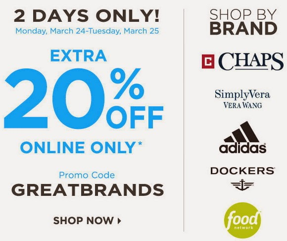 Kohl's Online Coupon Codes